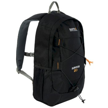 Survivor III 20L Rucksack Black