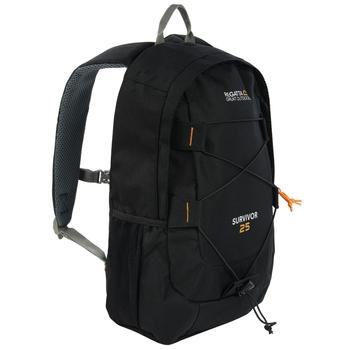 Plecak turystyczny Survivor III 25L czarny