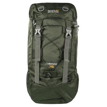 Zielony plecak Survivor III 35L