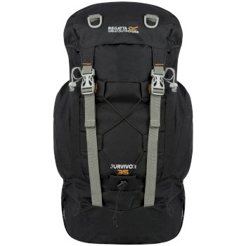 Survivor III 35L Rucksack Black
