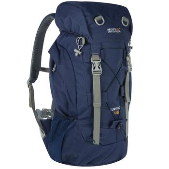 Granatowy plecak Turystyczny Survivor III 45L