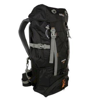 Plecak turystyczny Survivor III 65L czarny