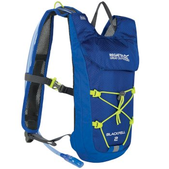 57662024d415 Blackfell II 2 Litre Hydration Backpack Oxford Blue Lime Zest