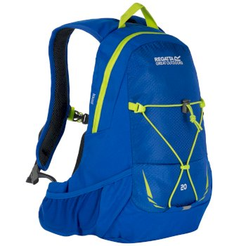 a1eec0e5fd05 Blackfell II 20 Litre Hydration Backpack Rucksack Oxford Blue Lime Zest