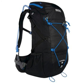 d472e062f532 Blackfell II 35 Litre Backpack with Hydration Storage Pocket Black French  Blue