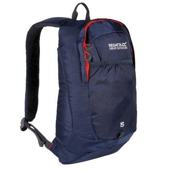 Bedabase II 15 Litre Backpack Dark Denim Amber Glow