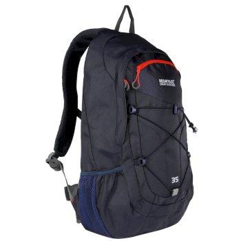 Granatowy plecak Atholl II 35L