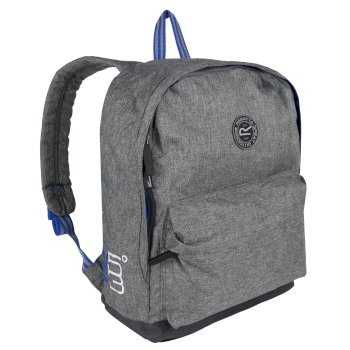 Print 20 Litre Easy Grab Zip Puller Daypack Nautical Grey