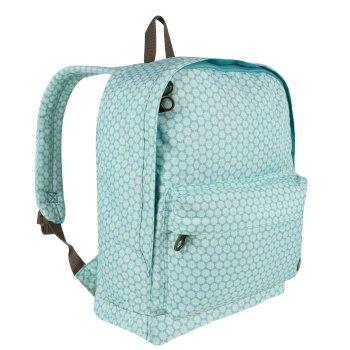 Print 20 Litre Easy Grab Zip Puller Daypack Aqua