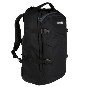 Paladen Carry On Convertible Backpack Black Ebony