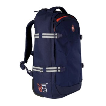 Paladen Carry On Convertible Backpack Nautical Navy