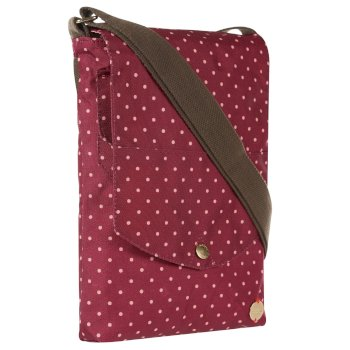 Elsie Cross Body Bag Beaujolais Polka Dot