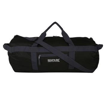 Czarna składana torba Packaway Duff 60 L
