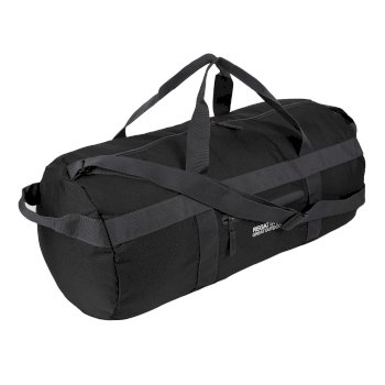 Czarna torba unisex Packaway Duff 40L