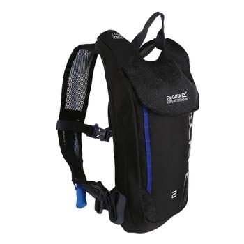 Dwulitrowy czarny plecak Blackfell