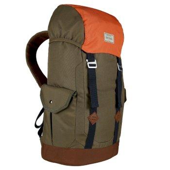 Stamford 30L Backpack Camo Green Rust