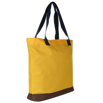Stamford Beach Bag Golden Spice Navy