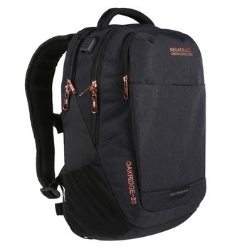 Oakridge 20L Backpack Black Rose Gold