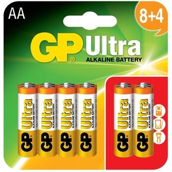 GP Ultra Alkaline AA X 12 Miscellaneous