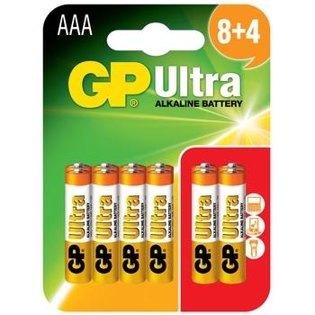 GP Ultra Alkaline AAA X 12 Miscellaneous