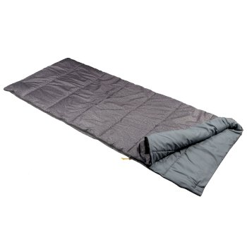 Maui Polyester Lined Single Sleeping Bag Grey Marl