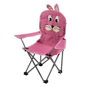 Kids Animal Lightweight Folding Camping Chair Rabbit Pink