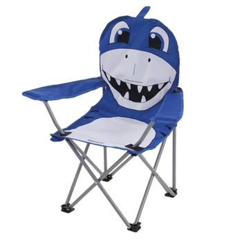 Krzesło campingowe dziecięce Animal Kids rekin