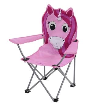 Krzesło campingowe dziecięce Animal Kids jednorożec