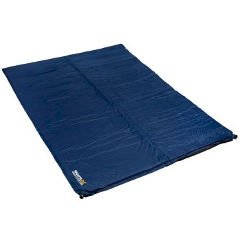 Napa 8 Lightweight Self-Inflating Foam Camping Mat - Double Laser Blue