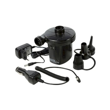 Compact Rechargeable Electric Pump EU Plug Black