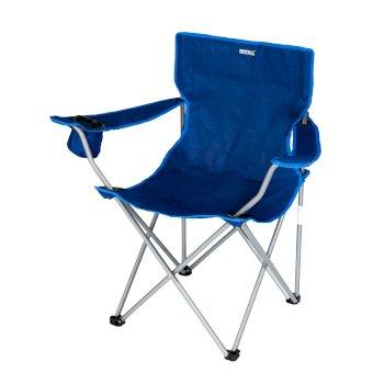 Isla Lightweight Folding Camping Festival Chair Laser Blue