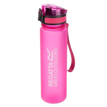 0.6 Litre Tritan Flip Lid Bottle Pink