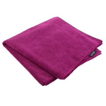 Compact Extra Large Travel Towel Dark Cerise
