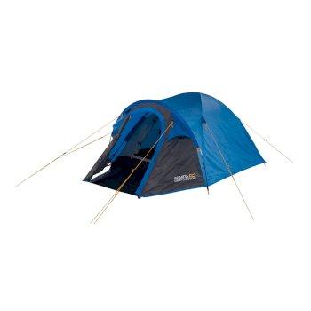 Kivu 2 Man Dome Tent Oxford Blue Seal Grey