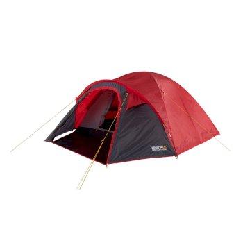 Kivu 4 V2 Man Dome Tent Pepper Seal Grey