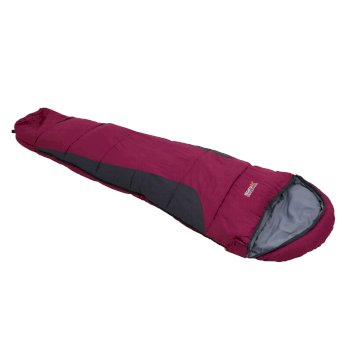 Hilo Boost Expandable Sleeping Bag Vivid Violet Ebony