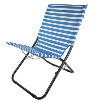 Leżak składany Kruza Beach Lounger niebieski
