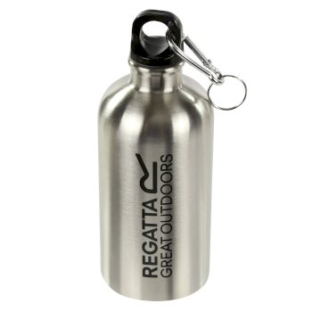 0.5l Steel Water Bottle Silver