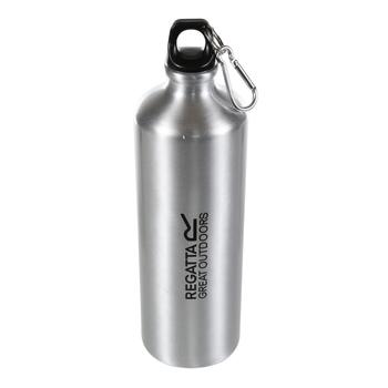 1L Aluminium Bottle Silver