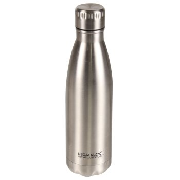 0.5L Insulated Bottle Silver