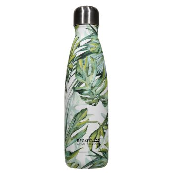 0.5L Insulated Bottle Ice Green Palm