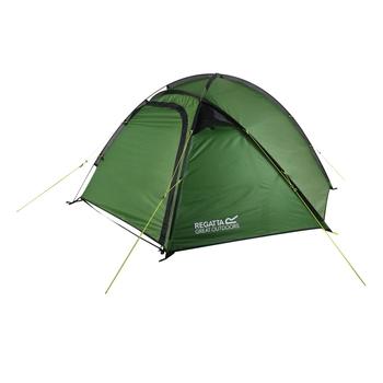 Montegra Geo 3-Man Backpacking Tent Alpine Green