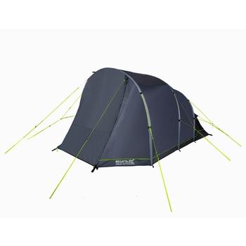 Kolima V2 4-Man Family Tunnel Inflatable Tent Lead Grey Ebony