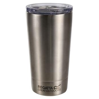 350ml Travel Commuter Mug Silver