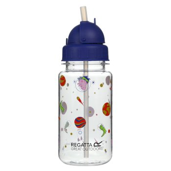 Peppa Pig 0.35L Tritan Straw Bottle Surf Spray Cosmic