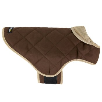 Insulated Chillguard Dog Coat brown