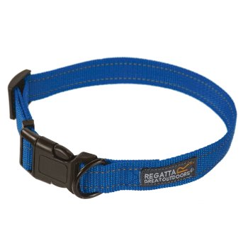 Comfort Hardwearing Dog Collar 45-70cm Oxford Blue