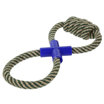 Tug Of War Hardwearing Dog Toy Grey