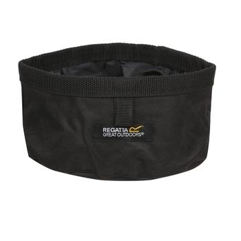 Pack Away Waterproof Dog Bowl Black
