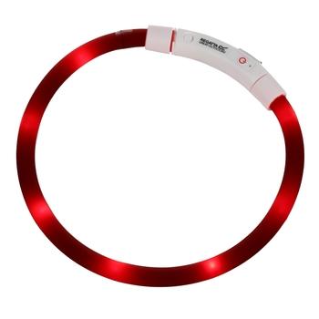 LED Dog Collar Red